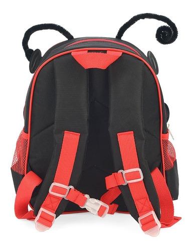 mochila guia coleira de segurança infantil joaninha  - 32613