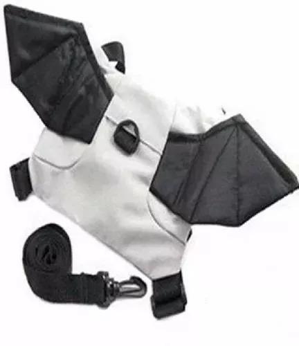 mochila guia coleira de segurança infantil - morceguinho