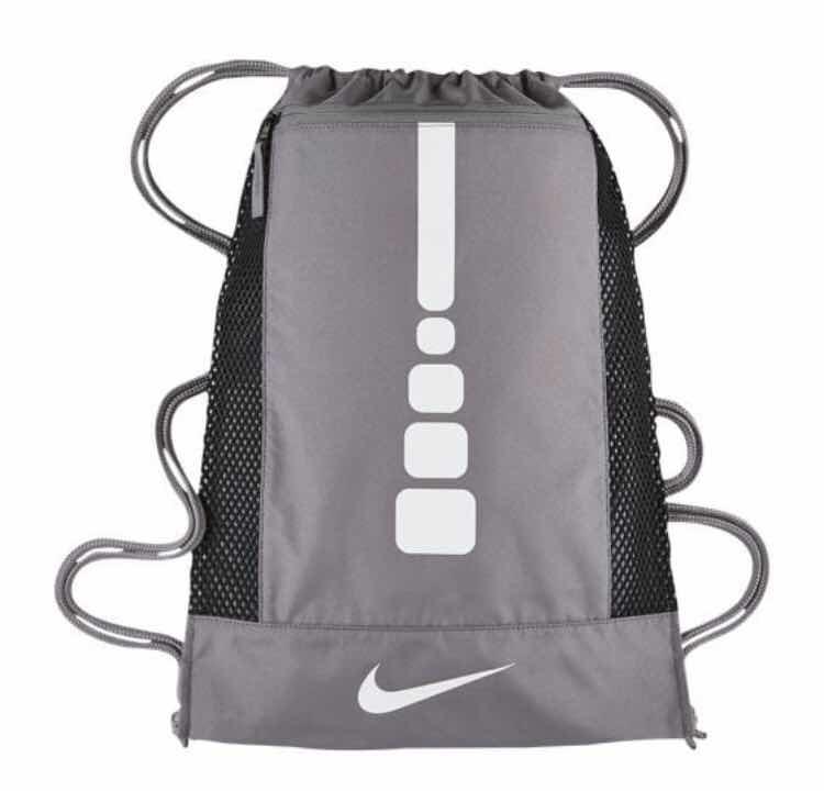 Hoops Gris Elite Nike Mochila Gymsack j3Lq54AR
