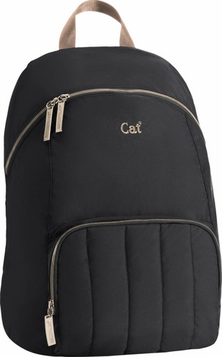 mochila haley bag cat 2 libretas de regalo color azul o gris