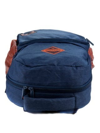 mochila hang loose 1167 azul/laranja