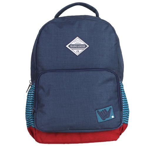 mochila hang loose escolar super resistente notebook
