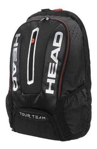 mochila head tour team negra para raquetas remate