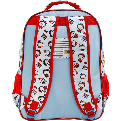 mochila  hello kitty e monica xeryus g- 7922