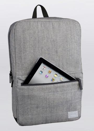 mochila hex p/ notebook macbook hasta 15  liviana premium