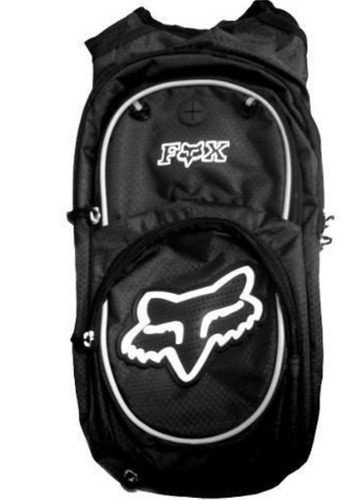 mochila hidratação fox 2 litros + refil bike/moto