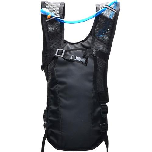 mochila hidratação impermeável c/ bolsa d`água bike 2 l