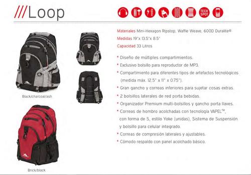 mochila high sierra daypacks modelo loop