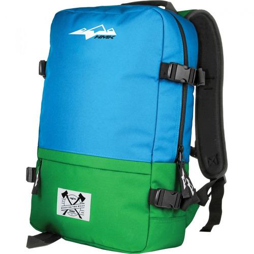 mochila hmk azul/verde
