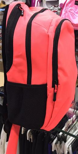 mochila hockey reves color coral porta palo tipo funda bolso