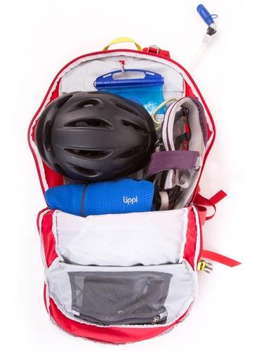 mochila hombre roca 24 backpack rojo lippi