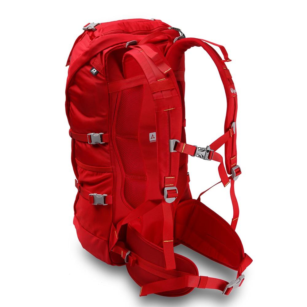 brillante n color profesional de venta caliente colores delicados Mochila Hombre Roca 30 Backpack Negro / Rojo Lippi