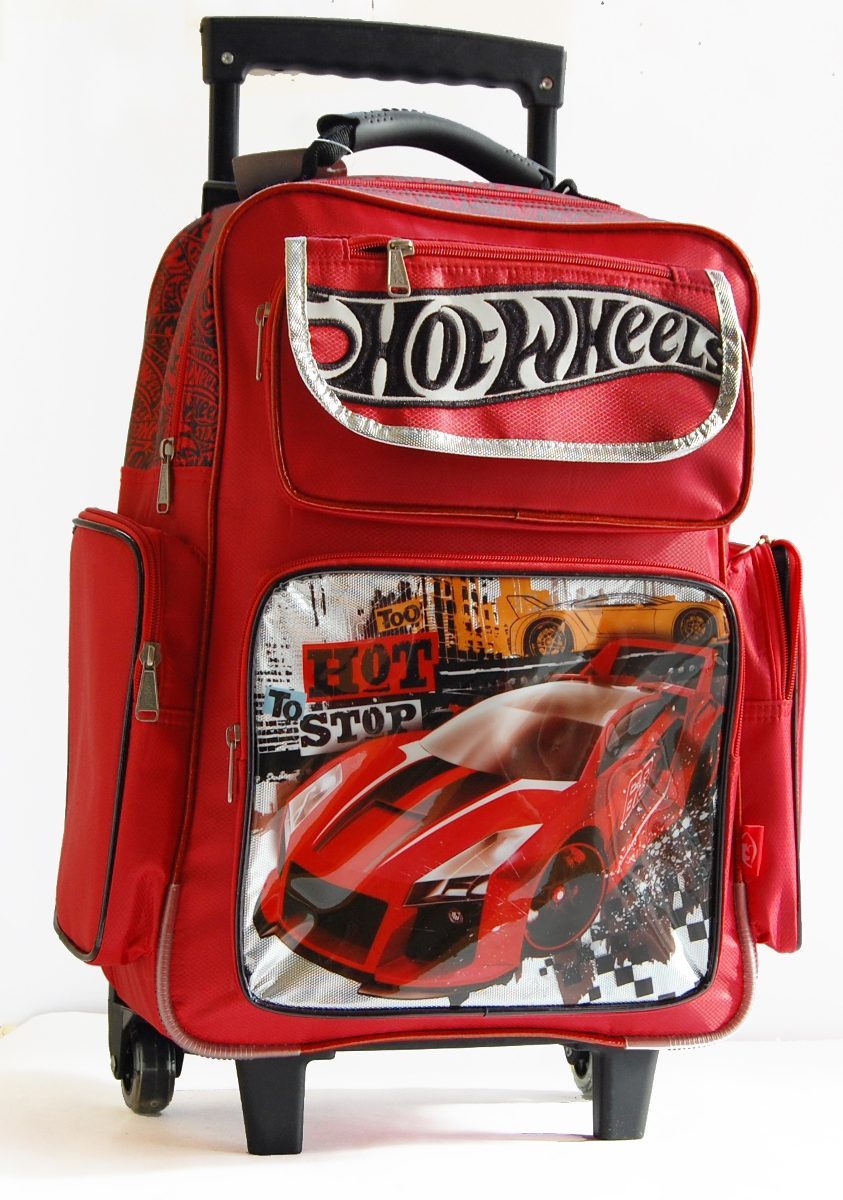9116749784 Mochila Hot Wheels Grande Con Carro 28701 -   1.000