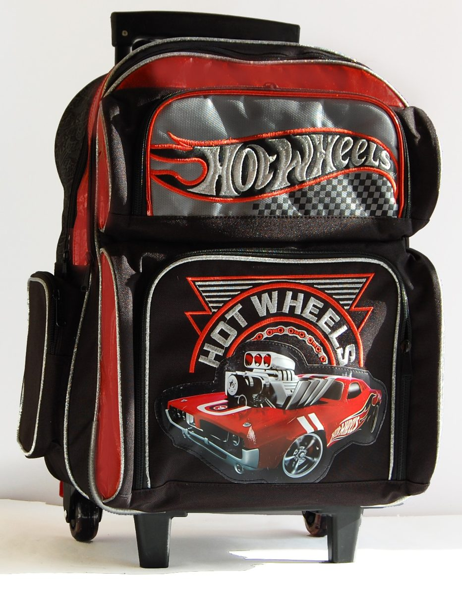 0679f176bc mochila hot wheels grande con carro 28791. Cargando zoom.