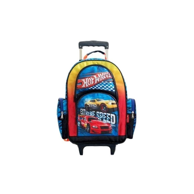 2fca02825e mochila hot wheels super grande con carro. Cargando zoom.
