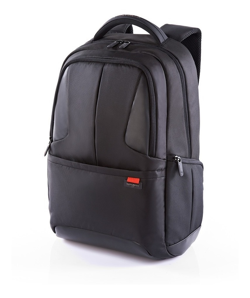 vista previa de la mejor moda ropa deportiva de alto rendimiento Mochila Ikonn Laptop Backpack I Black Samsonite