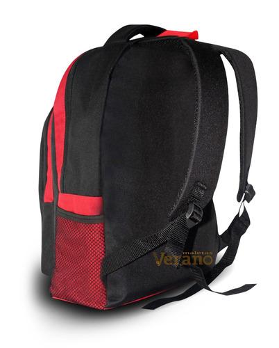 mochila impermeable para laptop 15.6'   con 2 compartimentos