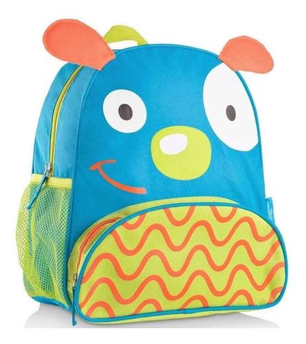 mochila infantil escolar bichinho cachorro multikids