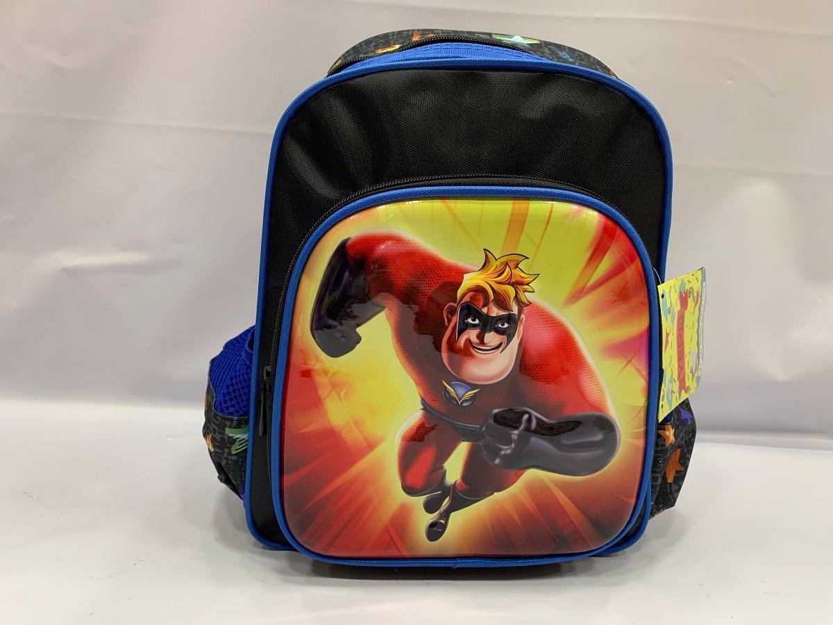95262b617 mochila infantil escolar para menino costas os incriveis m. Carregando zoom.