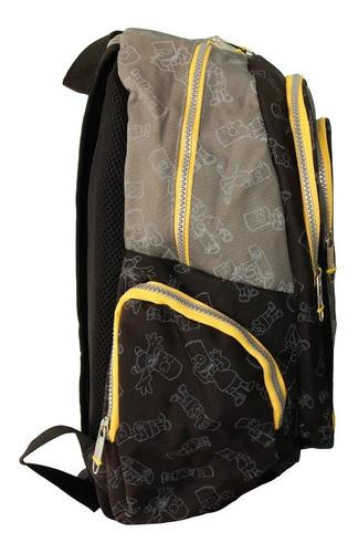 mochila infantil escolar simpsons cordez bart
