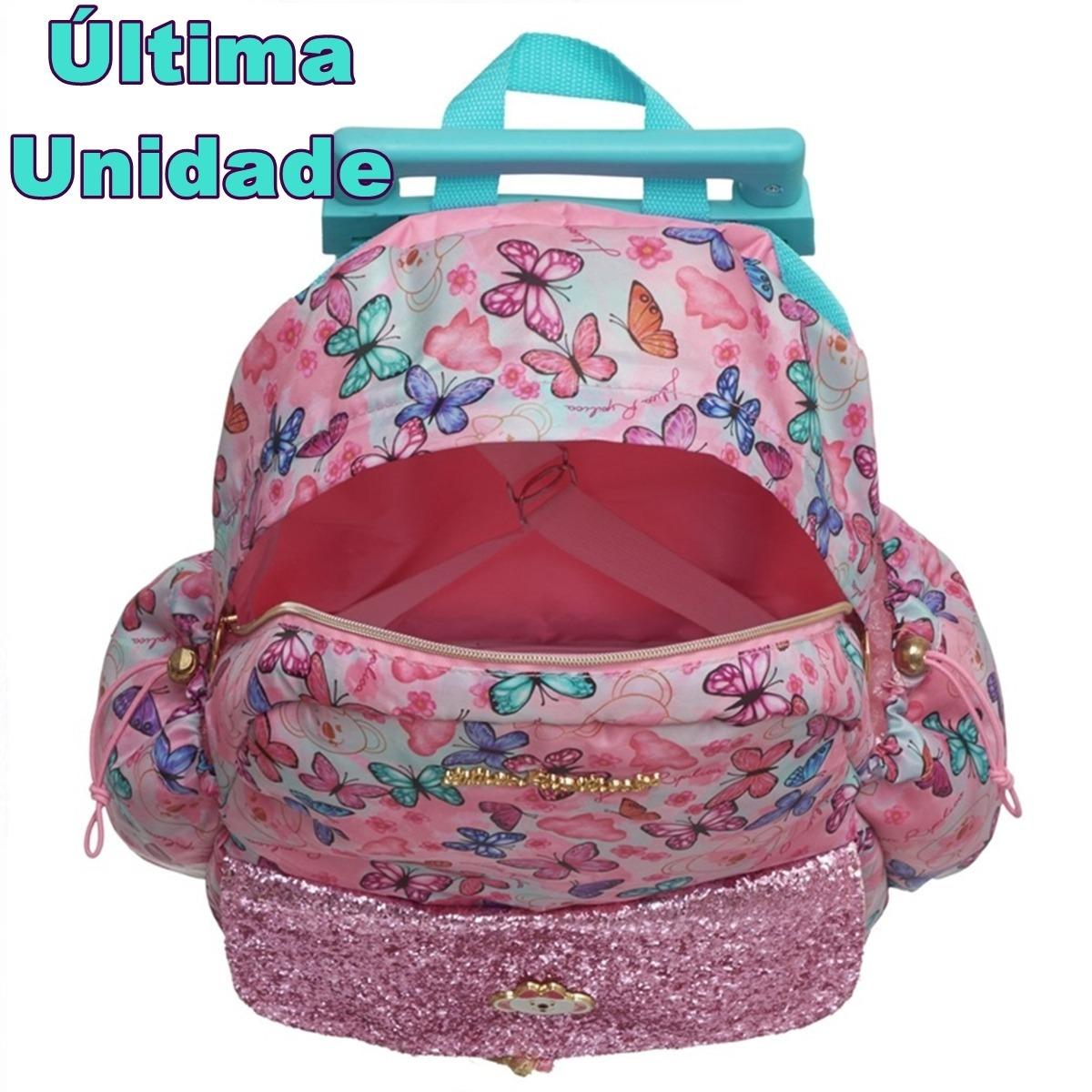 ad71d69b242e8 mochila infantil feminina grande com rodinhas lilica ripilic. Carregando  zoom.