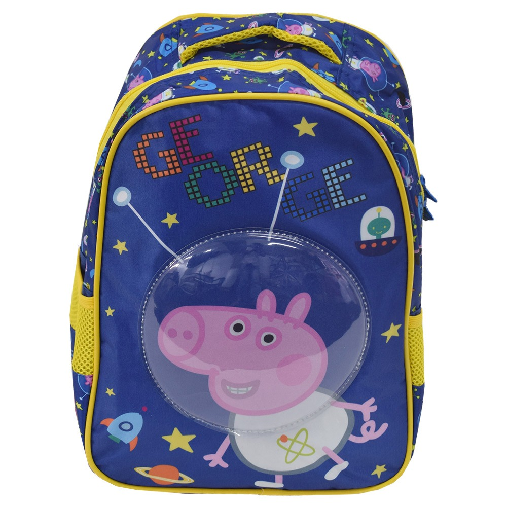 36b83b598 mochila infantil george astronauta - peppa pig 16'' - xeryus. Carregando  zoom.