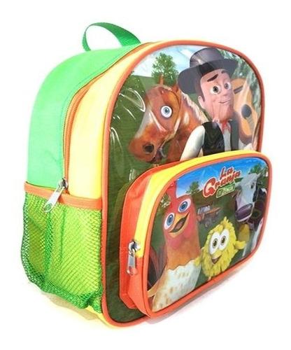 mochila infantil musical granja de zenon