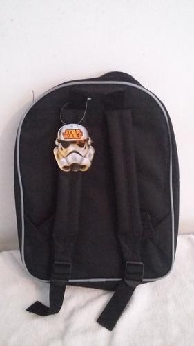 mochila infantil para as costas star wars com bolso