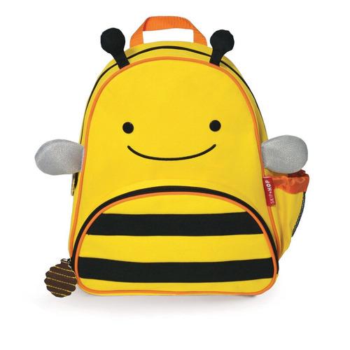 mochila infantil skip hop zoo original abelha