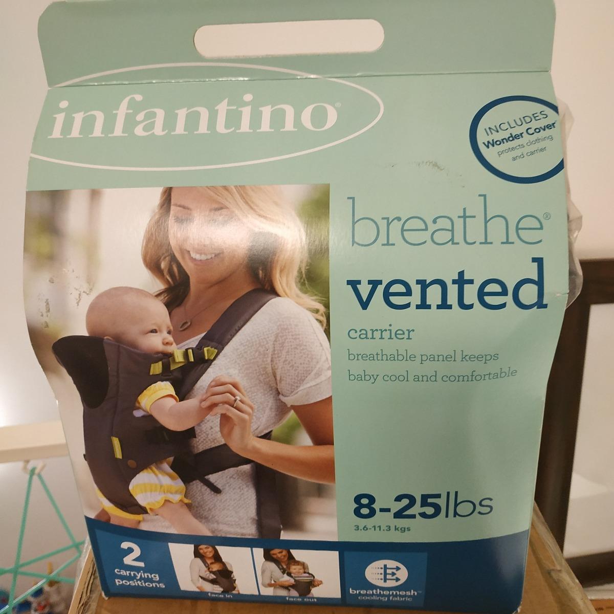 4c2d5072eaf2 Mochila Infantino Baby Breathe -   1.100,00 en Mercado Libre