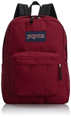 mochila jansport classic animales vikingo rojo