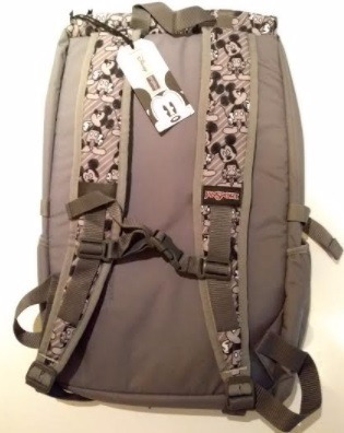 c3a647e4fe3 Mochila Jansport Disney Hatchet Grey Rabbit Mickey -   1