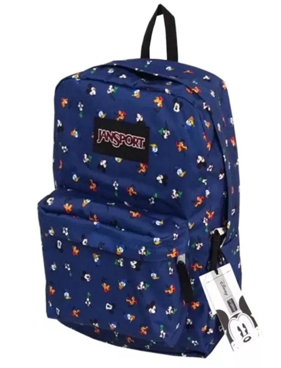 b5527833671 Mochila Jansport Original Disney Superbreak 25 L. Mickey