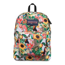Mochila Jansport Superbreak Multi Jungle Jan 25l Full