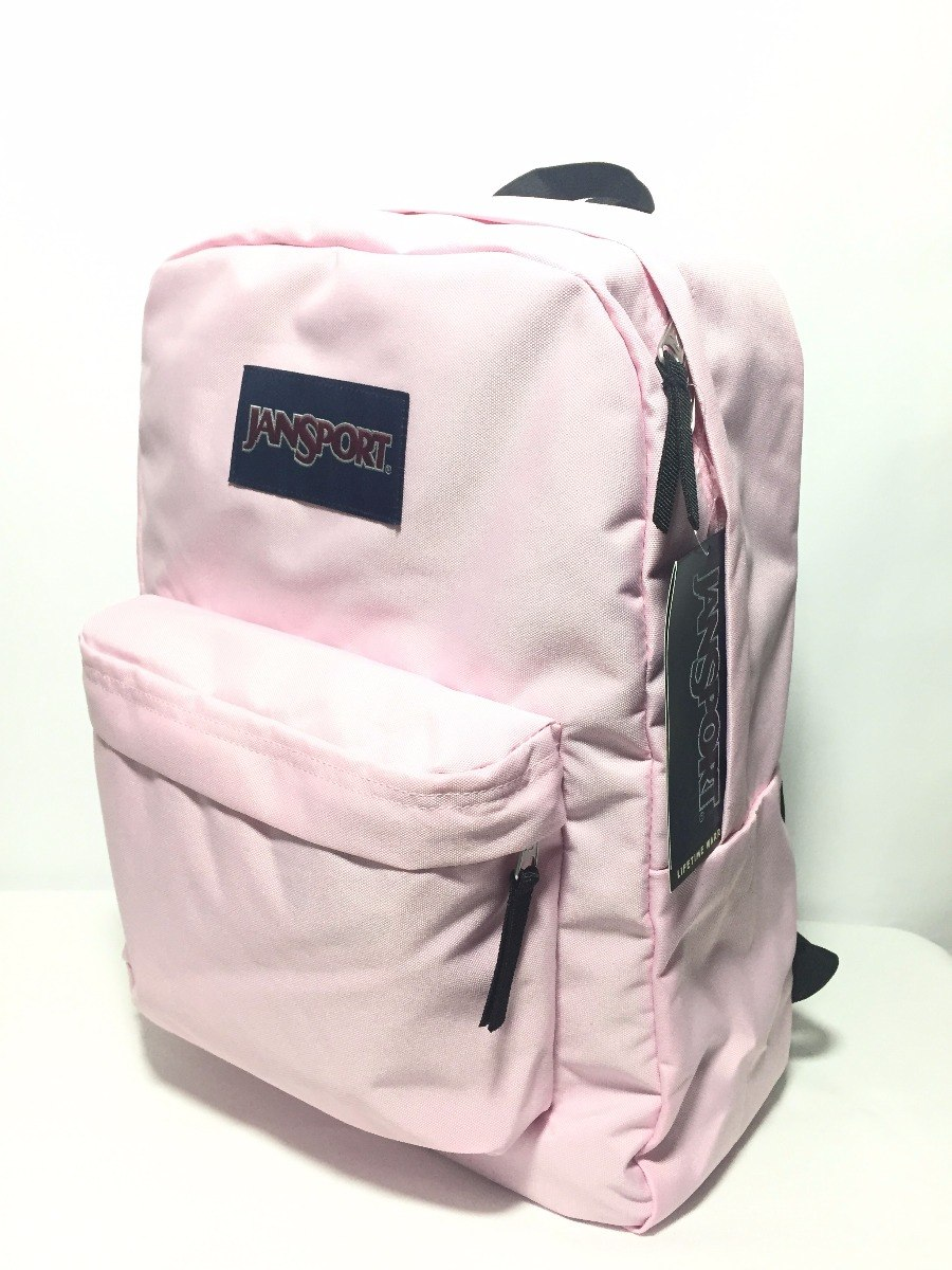 c06e86d3fc270 Mochila Jansport Superbreak Pink Mist T5013b7 -   599.00 en Mercado ...