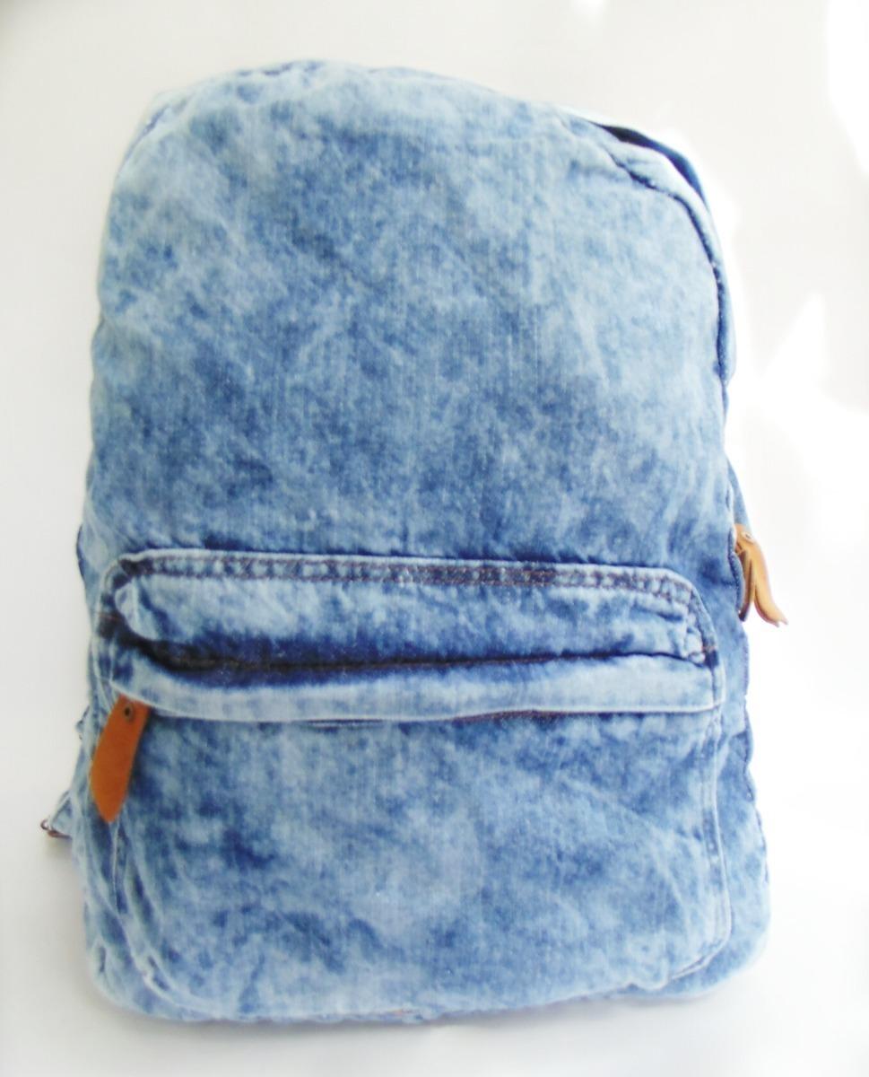 09a032643 mochila jeans masculina lançamento volta as aulas 2019. Carregando zoom.