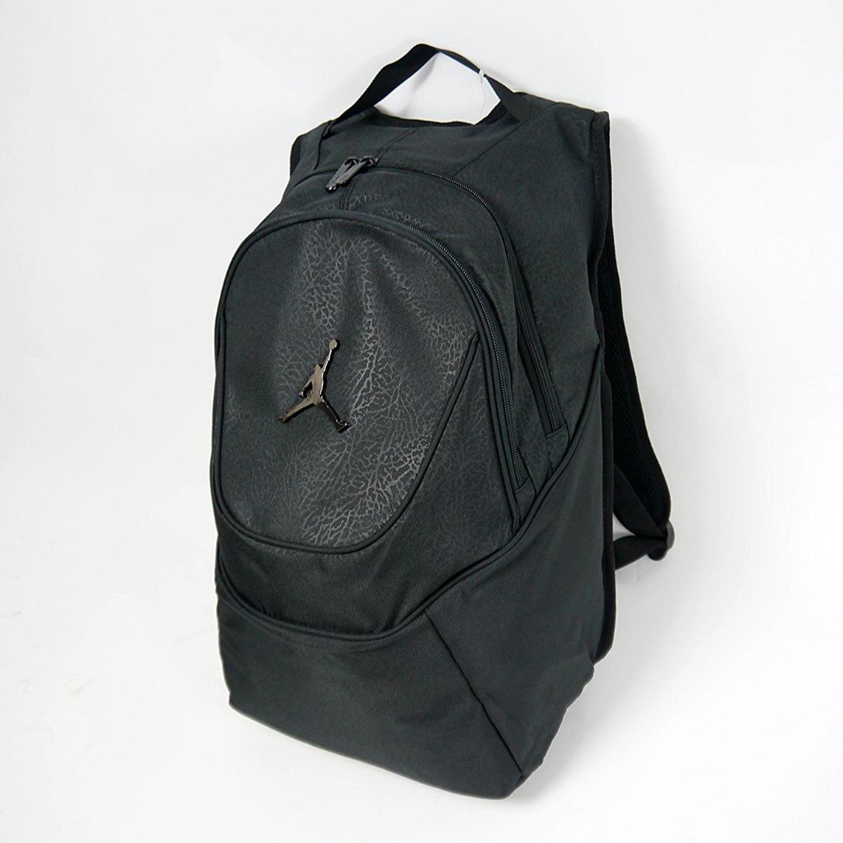 e5d1a25e9423 mochila jordan jumpman elementary bagpack black print. Cargando zoom.
