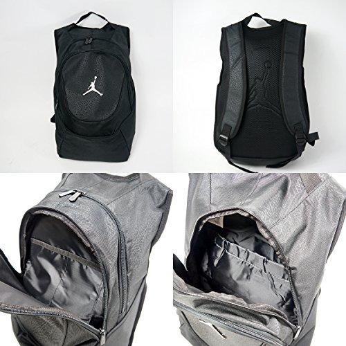 a9d3dbc5165a Mochila Jordan Jumpman Elementary Bagpack Black Print -   1