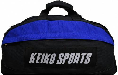 mochila keikosports pano trançado artes marciais treinos