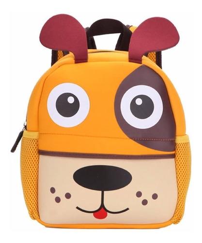 mochila kids zoo bebê criança infantil escola bicho bolsa 3d