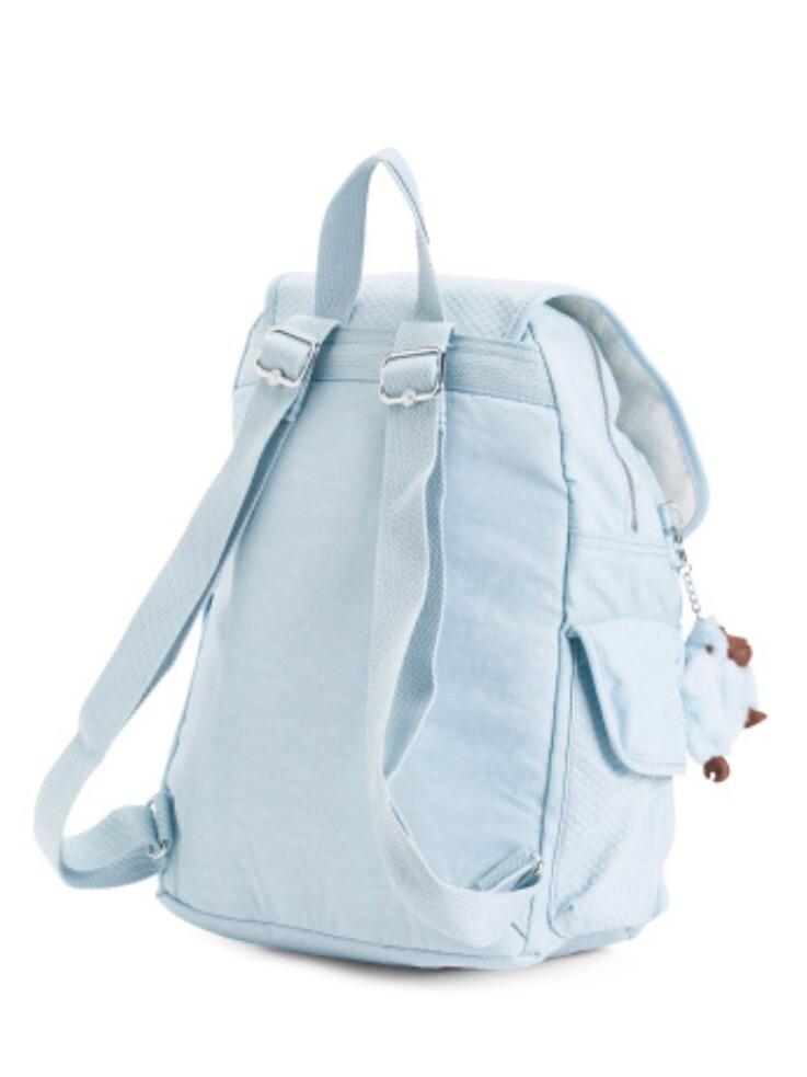 8ecd875a3 Mochila Kipling Azul Claro - Nova Original!!! - R$ 400,00 em Mercado ...