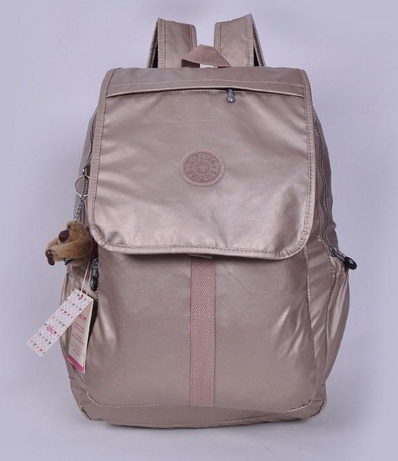 150682107 Mochila Kipling Dorada P Laptop Nueva Con Etiquetas Cartera - S/ 450 ...