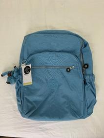 189dbd8d3 Mochila Kipling 400 Reais - Mochilas Azul celeste no Mercado Livre ...
