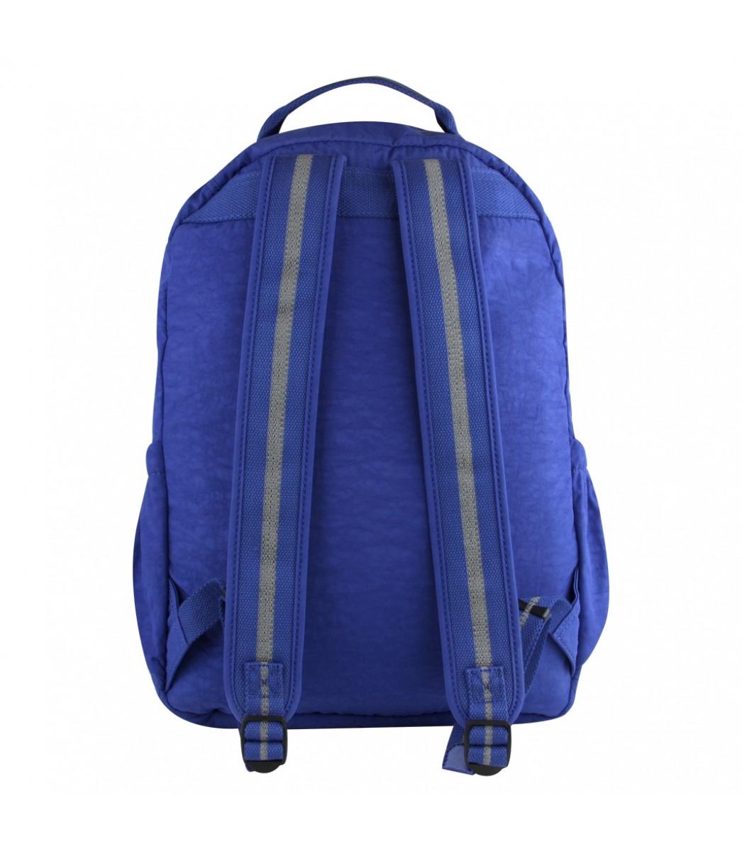 01149b86c Mochila Kipling Seoul Go Azul Broken Blue - R$ 699,00 em Mercado Livre
