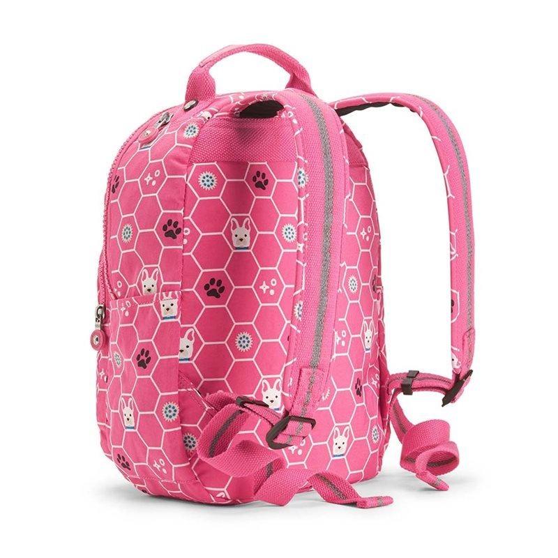 cd535fd58 Mochila Kipling Seoul Go S Rosa Pink Dog Tile - R$ 599,00 em Mercado ...