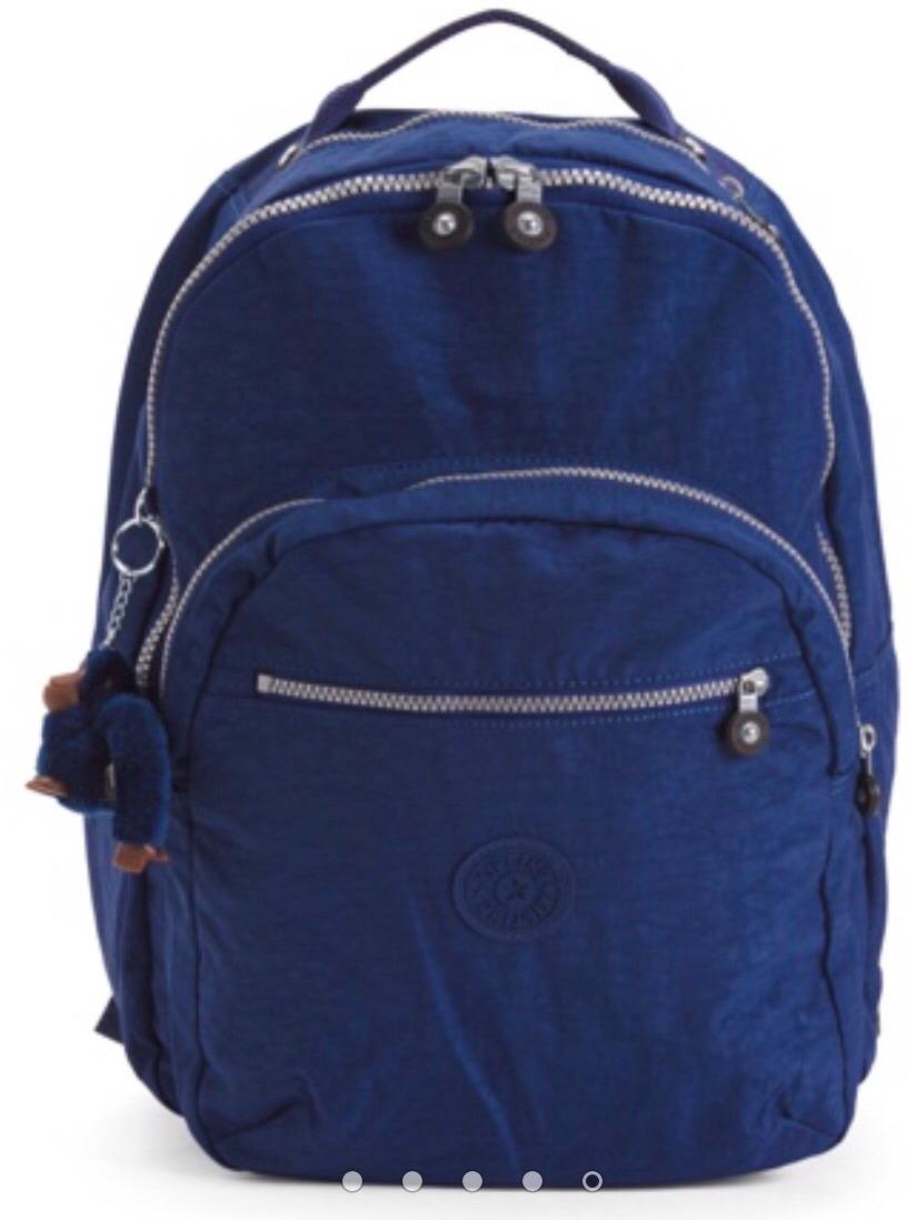 47fd0048e mochila kipling seoul grande azul marinho nova e original. Carregando zoom.