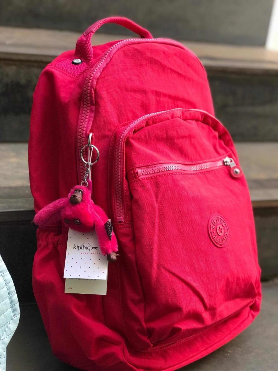 07384bcad Mochila Kipling Seoul Up Feminina - Pink - R$ 560,00 em Mercado Livre