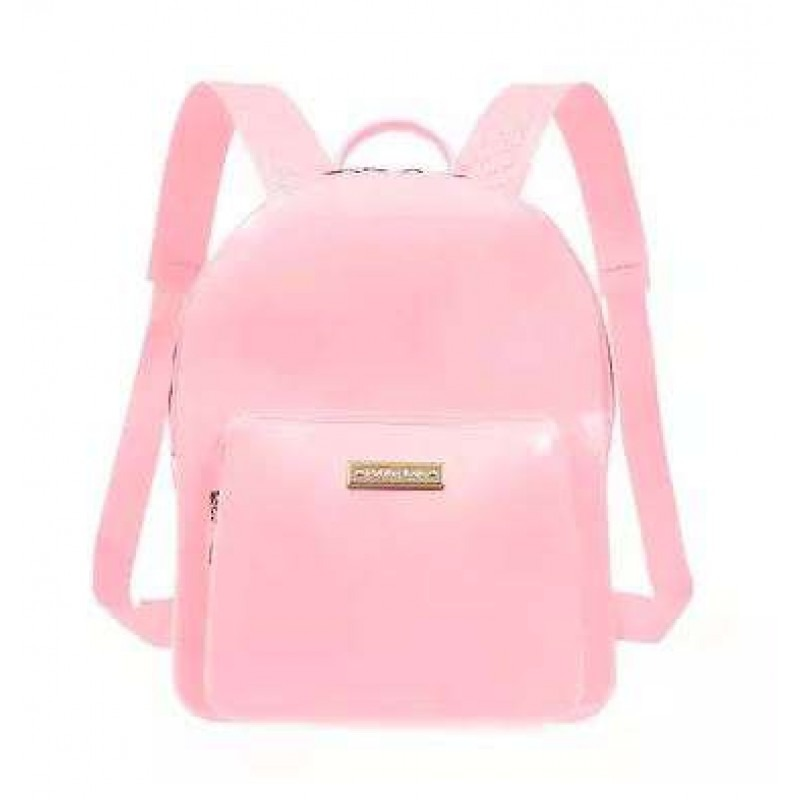 40c8ee3561 mochila kit bag pvc petite jolie pj2032 - rosa. Carregando zoom.