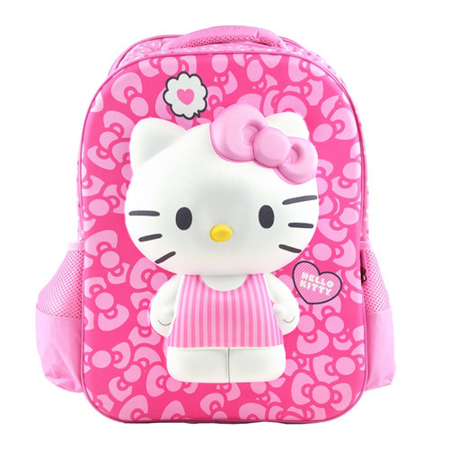 mochila kitty escolar 3d