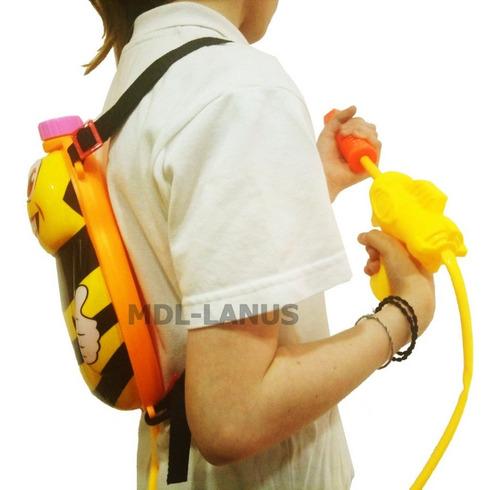 mochila lanza agua pistola de agua abeja grande para chicos
